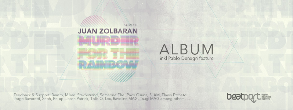 Juan Zolbaran - Murder for the rainbow (Album)