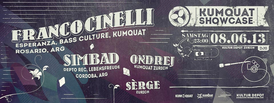 KUMQUAT Showcase @ Depot - Zurich