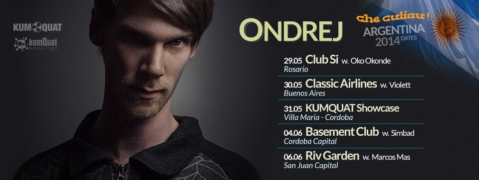 Ondrej - Argentina Tour 2014