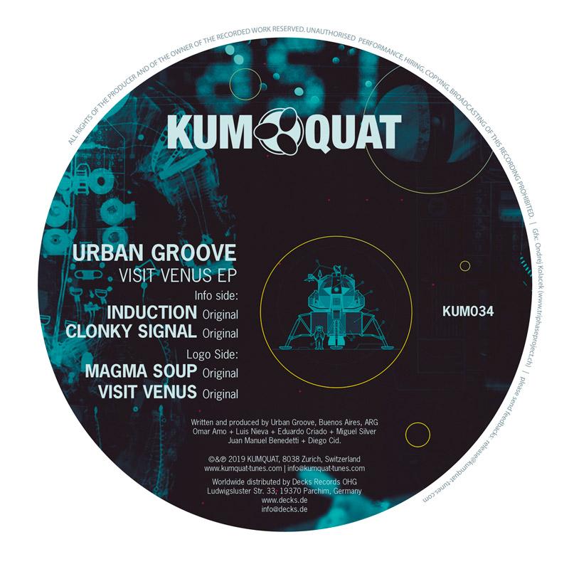 KUM034 Urban Groove - Visit Venus